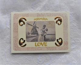 """Nostalgiekarte """"LOVE"""""""