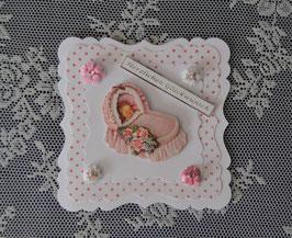 """Babykarte """"Herzlichen Glückwunsch"""""""