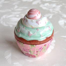 Cupe Cake rosa mit grünem Deckel