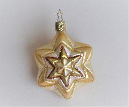 Stern creme-gold-bronze