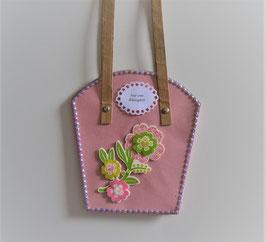 Pflanzen-Tasche groß in rosa (2)