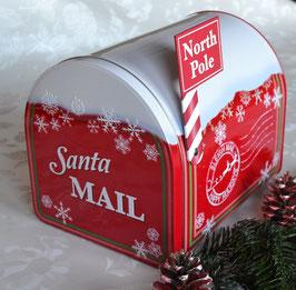 """Weihnachtsdose """"Mailbox"""" groß"""