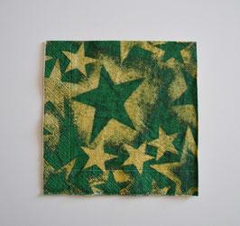Stern grün-gold