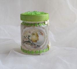 Osterglas grün (3)