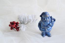 Nikolaus stehend mit Sack blau-gold