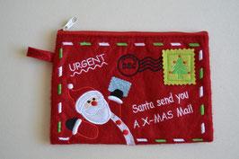 Filztasche Weihnachtspost