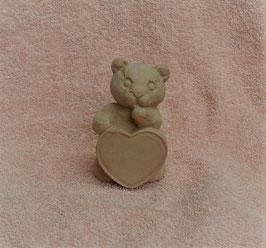 Herzbär rosa