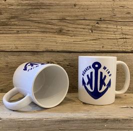 """Rükkenwind"" Kaffe, Bier, Tee und Jägermeister Becher"