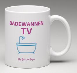 BADEWANNEN TV TASSE