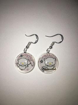 Boucles d'oreilles C025