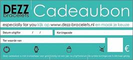 Dezz Cadeaubon
