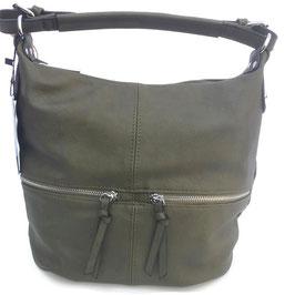 Schoudertas zipper - groen