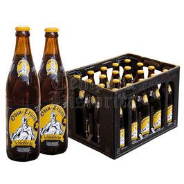 Odin Honigbier, Kasten mit 20 Flaschen à 0,5 Liter