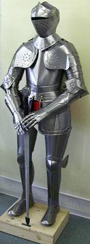 Fußturnier-Rüstung, Harnisch