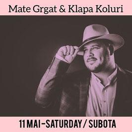 Mate Grgat & Klapa Koluri- SAMSTAG Abend am Meer