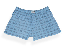 "Degree Boxershorter ""King Eichel"" Blau"
