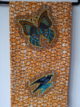 Torsodoek Butterfly/Bird Turqoise