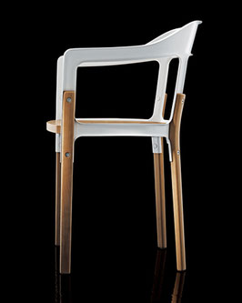 STEEL WOOD CHAIR