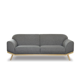 OTTO 195 sofa/bone013steel