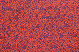 Hapilu Wollstrickstoff Marrakesch Rot/Violett/Chili