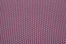 Hapilu Wollstrickstoff Struktur Hibiskus/Altrosa