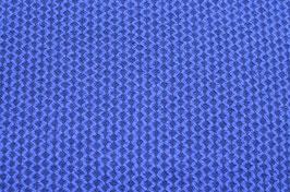 Hapilu Wollstrickstoff Struktur Hellblau/Königsblau