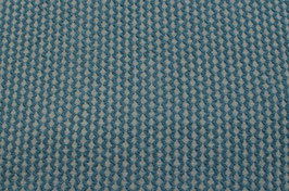 Hapilu Wollstrickstoff Struktur Dunkelgrün/Grau