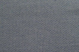 Hapilu Baumwollstrickstoff Kleine Rauten Grau