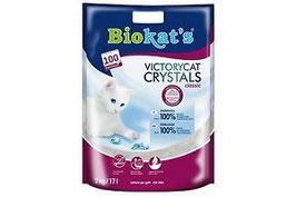 lettiera igienica biokat's victorycat - silica gel  - family bag 7kg 16 litri