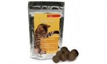 Bolo via Bocconcini appetibili per l'eliminazione dei boli di pelo nel gatto -40g -20 bocconcini