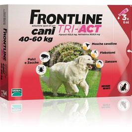 FRONTLINE TRI-ACT PER CANI DA 40 A 60KG DI PESO - 3/6 PIPETTE