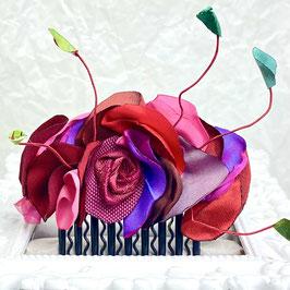 Haarkamm Blütenschatz