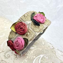 Rose apricot rosa