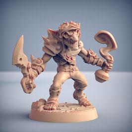 Goblin Straßenkrieger mit Dolch und Giftphiole