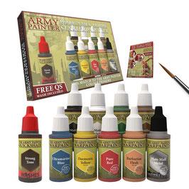Army Painter Starter Paint Set (11 Farben + 1 Pinsel)