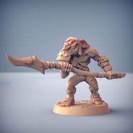 Goblin Krieger mit Speer