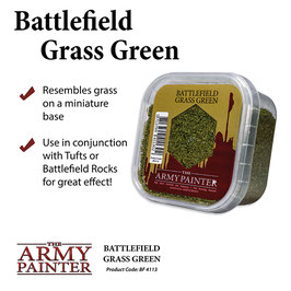 Army Painter Grass Green Basing Material