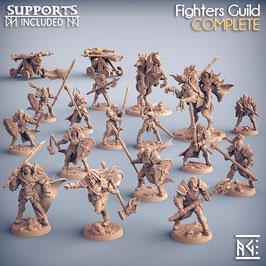 Komplettes Heer der Menschen - 18 Miniaturen