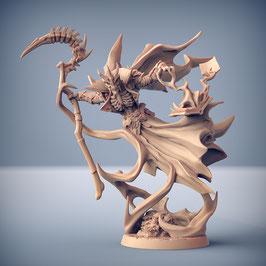 Skulkator der Lich Skelett Magier