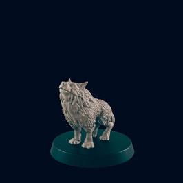 BB Wolf heulend