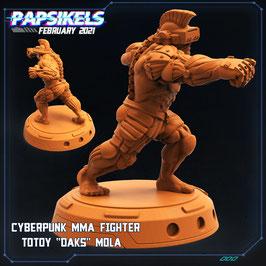 "Totoy ""Daks"" Mola Cyberpunk MMA Kämpfer"