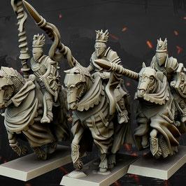 HM: Freie Menschen Schwere Kavallerie (3 Modelle)