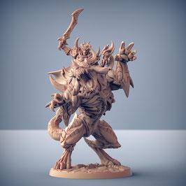 Rourazaak dämonische Bestie