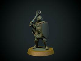 Brite Minis Ritter zu Fuß mit Streitkolben