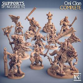 Kompletter Oni Clan (11 Miniaturen)