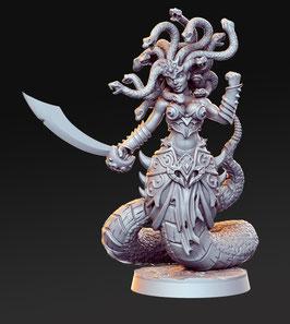 Medusa mythische Kreatur