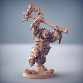 Frostclan Ork Krieger mit 2-H Axt