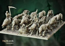 HM: Untote Wölfe (12 Modelle)