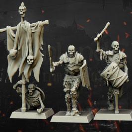 HM: Skelettkrieger Kommandogruppe