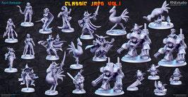 Komplettes JRPG Set (ohne mechanischen Drachen)